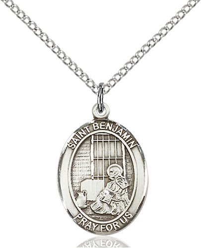 St. Benjamin Medal - 83304 Saint Medal