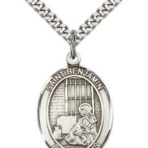 St. Benjamin Medal - 81935 Saint Medal