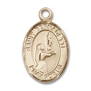 St. Bernadette Charm - 14 Karat Gold Filled (#84502)