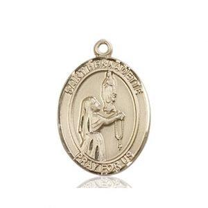 St. Bernadette Medal - 83315 Saint Medal