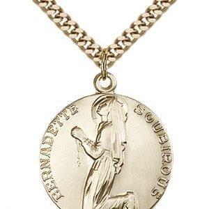 St. Bernadette Medal - 81887 Saint Medal