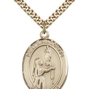 St. Bernadette Medal - 81945 Saint Medal