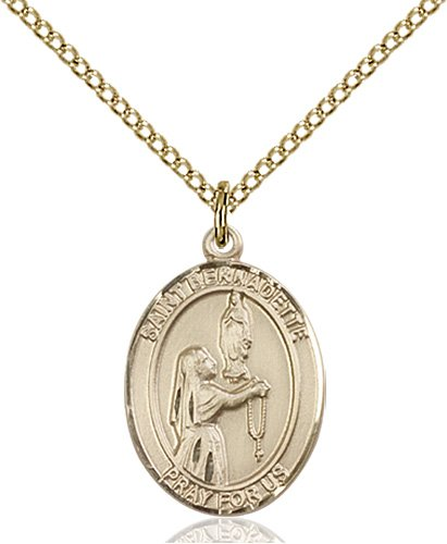St. Bernadette Medal - 83314 Saint Medal