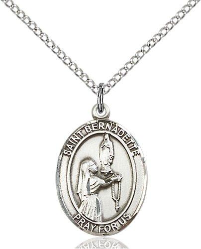 St. Bernadette Medal - 83316 Saint Medal