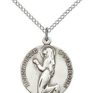 St. Bernadette Medal - 81886 Saint Medal