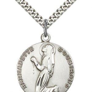 St. Bernadette Medal - 81889 Saint Medal