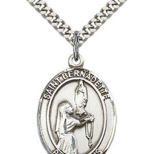 St. Bernadette Medal - 81947 Saint Medal