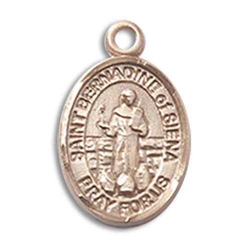 St. Bernadine of Siena Charm - 85469 Saint Medal