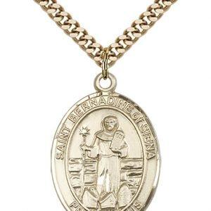 St. Bernadine of Siena Medal - 82910 Saint Medal