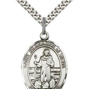 St. Bernadine of Siena Medal - 82912 Saint Medal