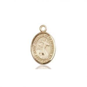 St. Bernard of Clairvaux Charm - 85088 Saint Medal