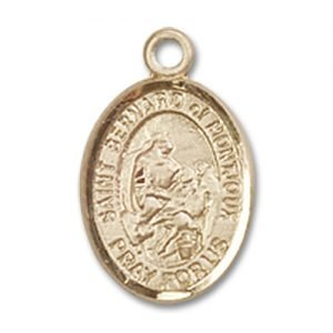 St. Bernard of Montjoux Charm - 14 Karat Gold Filled (#85149)