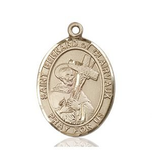 St. Bernard of Clairvaux Medal - 82527 Saint Medal