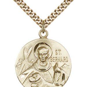 St. Bernard of Clairvaux Medal - 81646 Saint Medal