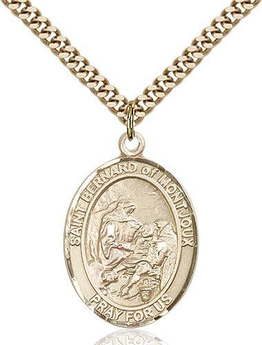 St. Bernard of Montjoux Medal - 82589 Saint Medal