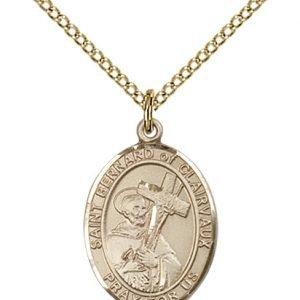 St. Bernard of Clairvaux Medal - 83898 Saint Medal