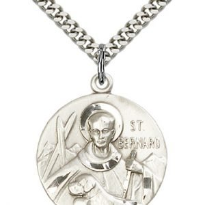 St. Bernard of Clairvaux Medal - 81648 Saint Medal