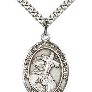 St. Bernard of Clairvaux Medal - 82528 Saint Medal