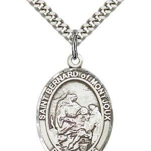 St. Bernard of Montjoux Medal - 82591 Saint Medal