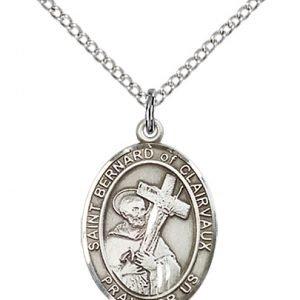 St. Bernard of Clairvaux Medal - 83900 Saint Medal