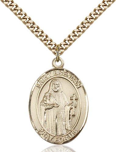 St. Brendan the Navigator Medal - 81948 Saint Medal