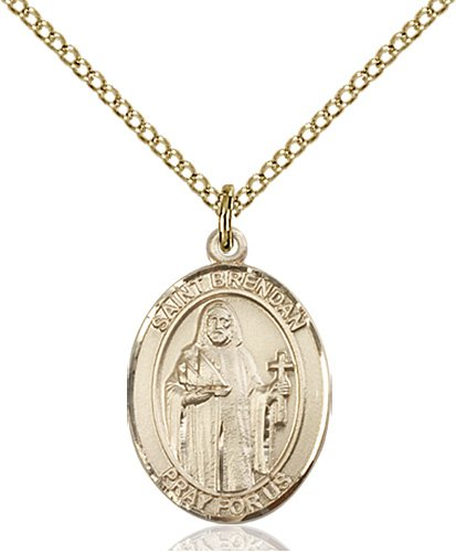 St. Brendan the Navigator Medal - 83317 Saint Medal