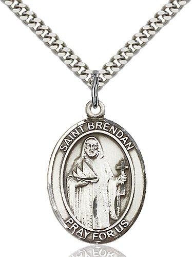St. Brendan the Navigator Medal - 81950 Saint Medal