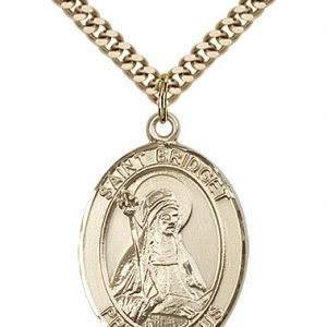 St. Bridget of Sweden Medal - 82244 Saint Medal