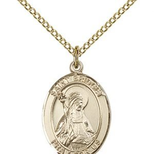 St. Bridget of Sweden Medal - 83610 Saint Medal