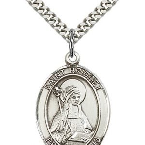 St. Bridget of Sweden Medal - 82246 Saint Medal