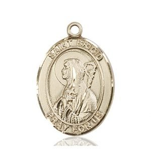 St. Brigid of Ireland Medal - 82248 Saint Medal
