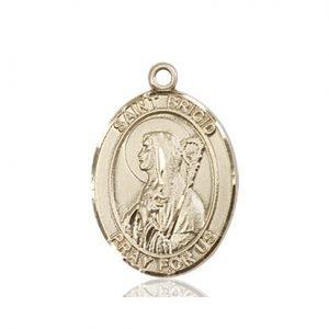 St. Brigid of Ireland Medal - 83614 Saint Medal