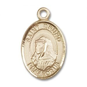 St. Bruno Charm - 14 Karat Gold Filled (#85161)