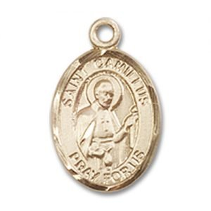 St. Camillus of Lellis Charm - 14 Karat Gold Filled (#84508)
