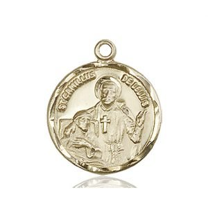 St. Camillus of Lellis Medal - 81827 Saint Medal