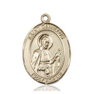 St. Camillus of Lellis Medal - 81952 Saint Medal