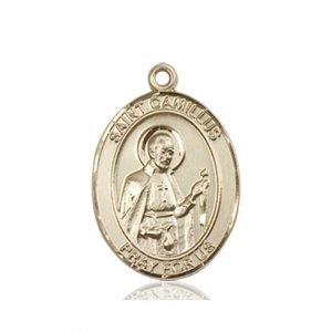 St. Camillus of Lellis Medal - 83321 Saint Medal