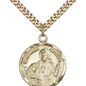 St. Camillus of Lellis Medal - 81826 Saint Medal