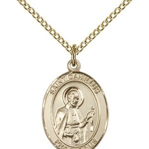 St. Camillus of Lellis Medal - 83320 Saint Medal