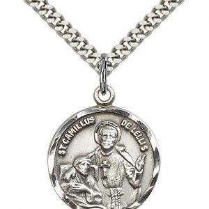 St. Camillus of Lellis Medal - 81828 Saint Medal