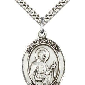 St. Camillus of Lellis Medal - 81953 Saint Medal