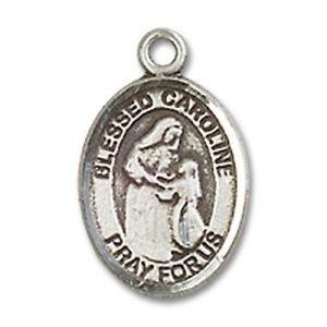 Blessed Caroline Gerhardinger Charm - Sterling Silver (#85196)