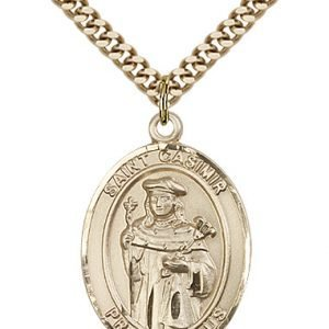St. Casimir of Poland Medal - 82226 Saint Medal