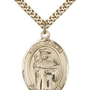 St. Casimir of Poland Medal - 82226 Saint Medal
