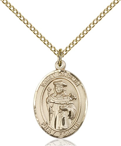 St. Casimir of Poland Medal - 83592 Saint Medal