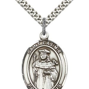 St. Casimir of Poland Medal - 82228 Saint Medal