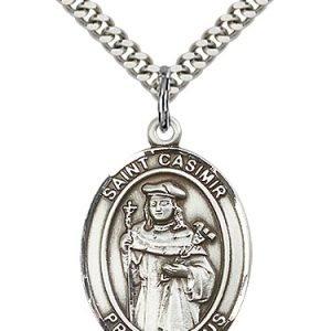 St. Casimir of Poland Medal - 82228 Saint Medal
