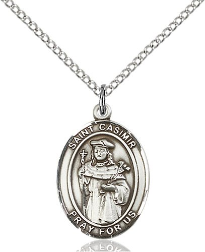 St. Casimir of Poland Medal - 83594 Saint Medal