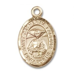 St. Catherine Laboure Charm - 14 Karat Gold Filled (#84514)