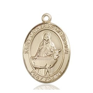 St. Catherine of Sweden Medal - 82779 Saint Medal
